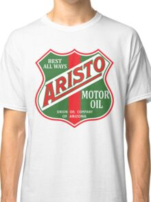 ARISTO MOTOR OIL GASOLINE LUBRICANT VINTAGE RACING Classic T-Shirt