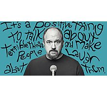 Louis C.K. Photographic Print