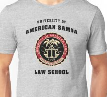 University of American Samoa Law School  Unisex T-Shirt