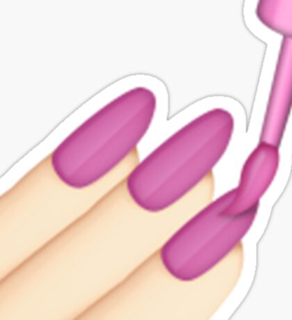 Nails Emoji (Asian) Sticker