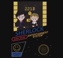 NINTENDO: NES SHERLOCK One Piece - Short Sleeve