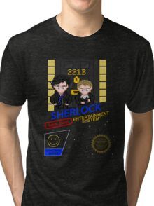 NINTENDO: NES SHERLOCK Tri-blend T-Shirt