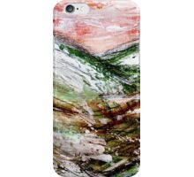 Sunset over Green Hills 1 iPhone Case/Skin