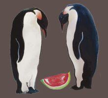 Watermelon Penguin Parents Baby Tee