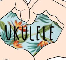 I love ukulele Sticker