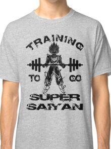 Training To Go Super Saiyan Classic T-Shirt