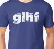 GLHF model 4 - white Unisex T-Shirt