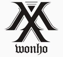 Monsta X logo + Wonho One Piece - Short Sleeve