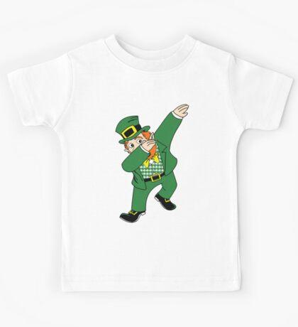 Dabbin' Leprechaun Kids Tee