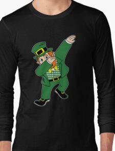 Dabbin' Leprechaun Long Sleeve T-Shirt