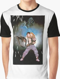Aliens Ripley and Newt  Graphic T-Shirt