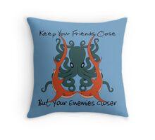 Shark & Octopus  Throw Pillow