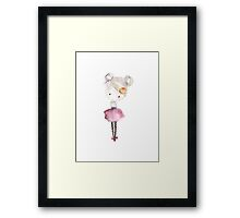 Little Darlings - Betsy Framed Print