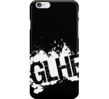 GLHF model 5 - white iPhone Case/Skin