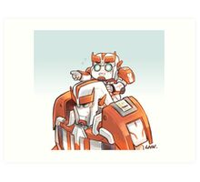 TFP Ratchet and Baby Ratchet Art Print