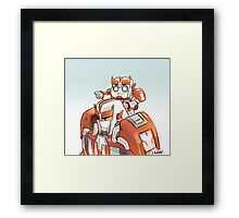 TFP Ratchet and Baby Ratchet Framed Print