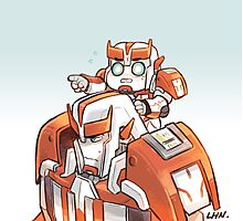 TFP Ratchet and Baby Ratchet Photographic Print