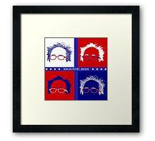 Bernie Election Art Framed Print