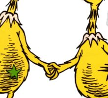 Sneetches are Sneetches Sticker