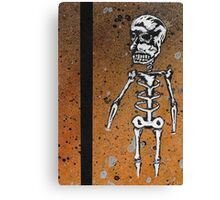 Day of the dead card #1 Canvas Print
