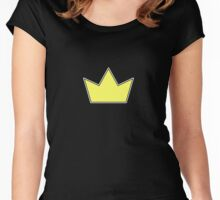 Cryptidbits Crown Women's Fitted Scoop T-Shirt