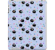 Soot Sprites and konpeito iPad Case/Skin