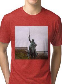 WASHINGTON STATUE Tri-blend T-Shirt