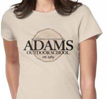 Adams Outdoor School (fcb) Womens Fitted T-Shirt