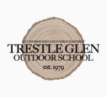 Trestle Glen Outdoor School (fcb) One Piece - Long Sleeve