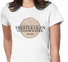 Trestle Glen Outdoor School (fcb) Womens Fitted T-Shirt