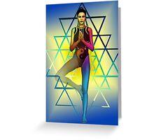 sacred geometry 2 Greeting Card