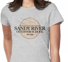 Sandy River Outdoor School (fcb) Womens Fitted T-Shirt