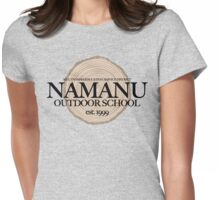 Namanu Outdoor School (fcb) Womens Fitted T-Shirt