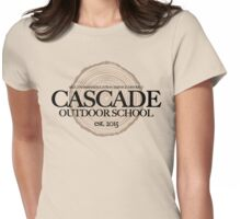 Cascade Outdoor School (fcb) Womens Fitted T-Shirt