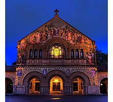 STANFORD CHRUCH Photographic Print
