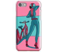 Bike Gurl iPhone Case/Skin