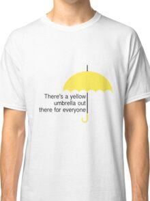 Yellow Umbrella Classic T-Shirt