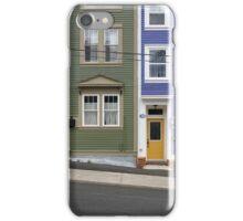 Colourful Houses, St. John's, Newfoundland 2015 iPhone Case/Skin