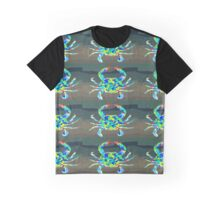 Psychedelic Crab Graphic T-Shirt