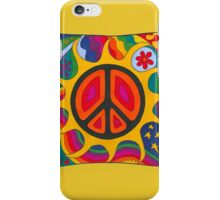 Psychedelic Flaming Peace iPhone Case/Skin