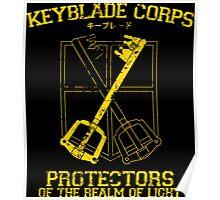 Keyblade Kingdom Hearts Poster
