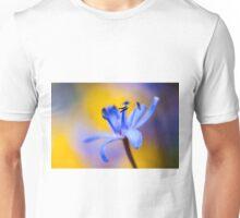 Blue romantic flower Unisex T-Shirt