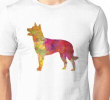 Australian Kelpie in watercolor Unisex T-Shirt