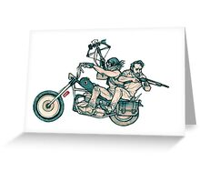 TWD_daryl dixon and rick grimes  Greeting Card