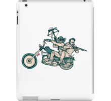 TWD_daryl dixon and rick grimes  iPad Case/Skin