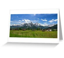 Tannheimer Tal Greeting Card