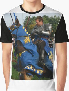 Charging Into Battle Graphic T-Shirt