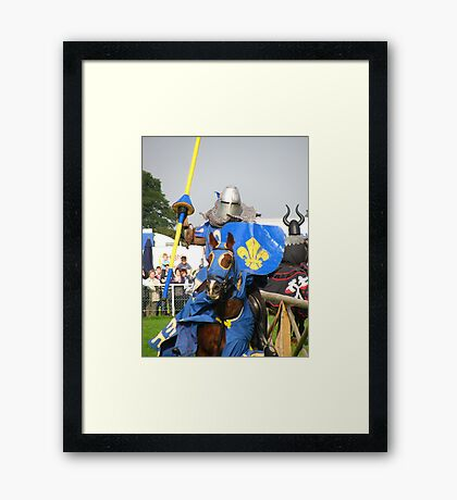 Jousting Tournament Framed Print