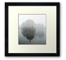 Weathering the fog Framed Print