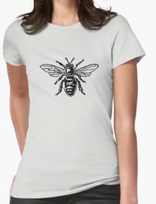 Honey Bee Womens Fitted T-Shirt